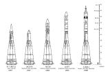 Prehľad rakiet z Rodiny R-7. Momentálne je ich ešte viac a prispavujú sa nové! O tom ale až nabudúce.