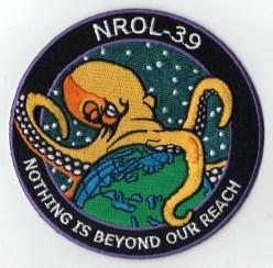 Logo družice NROL-39