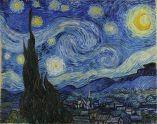 Starry Night Vincenta Van Gogha, bývají považovány za první pokus o zobrazení vířivého proudění s matematickou přesností