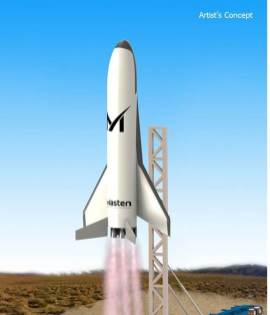 XS-1 formy Masten Space Systems zdroj:space.com