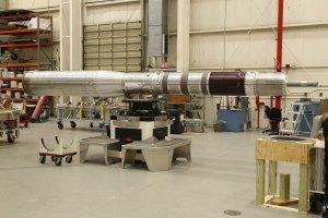 Výroba rakety Black Brant IX pro testovací misi SubTec-7