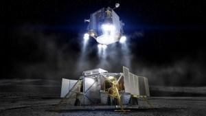 Návrh pilotovaného landeru Boeingu