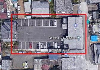 お城前駐車場の航空写真