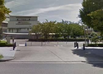 タイムズ ナゴヤドーム南駐車場の入口