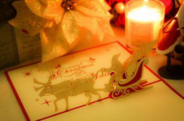クリスマスプレゼント、手紙で知ろう!サンタさんからのメッセージカード