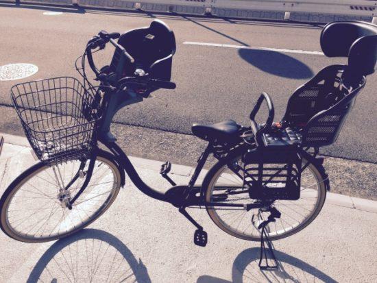 子供 自転車 三人乗り