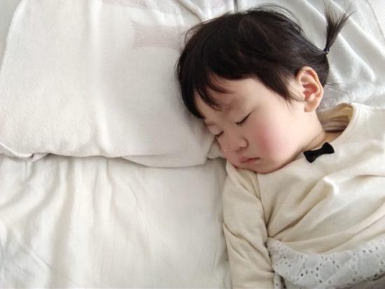 子供 寝てる すやすや