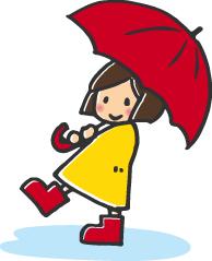 雨の日 散歩