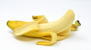 バナナ 剥いた