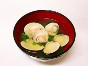 祝い膳 お吸い物 蛤