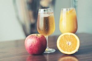 ジュース リンゴ グレープフルーツ