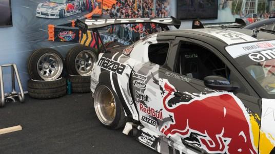 Redbull pits RX-8 2