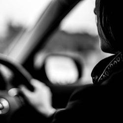 Under 17 Car Club Driving Down Road Bovington