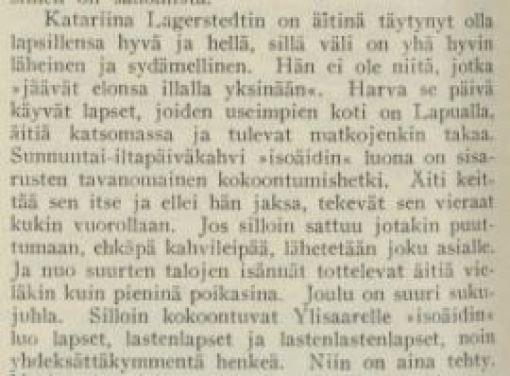 Tämän kuvan alt-attribuutti on tyhjä; Tiedoston nimi on Katariina-Lagerstedtista-Kotiliedessa-1.8.1926-kirjoittanut-Hilja-Riipinen-II.jpg