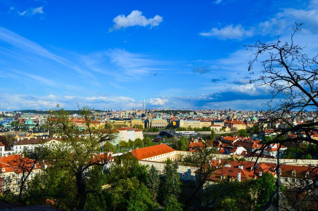 Enjoy the views of Prague