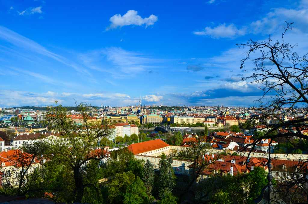 Enjoy the views of Prague