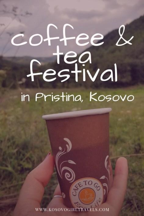 coffee and tea festival in Pristina, Kosovo