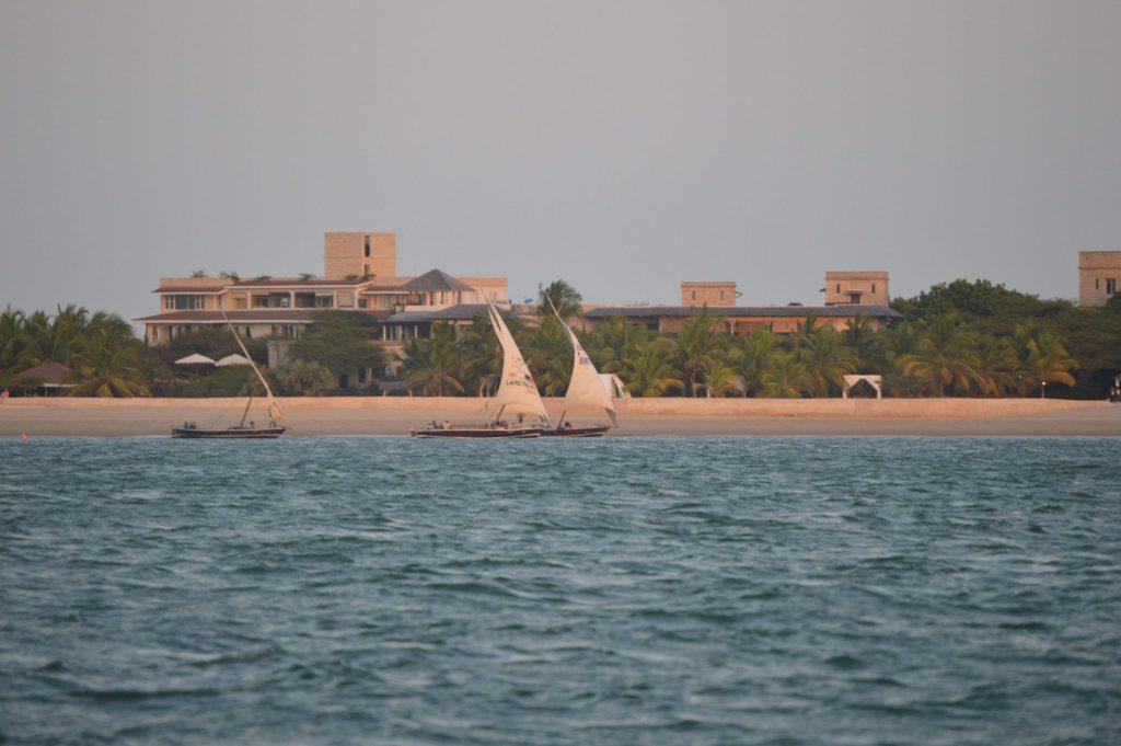 Lamu, dhow ride