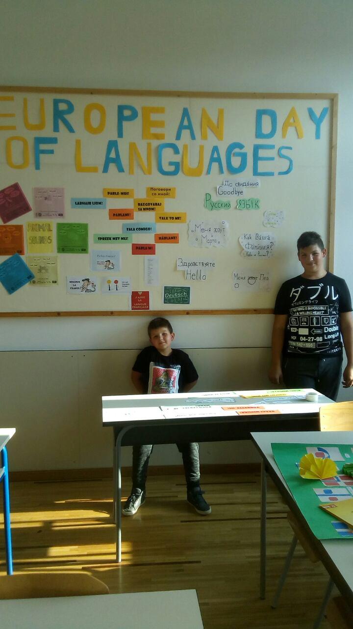 Aktivnosti prije integriranog tjedna za obilježavanje Europskog dana jezika