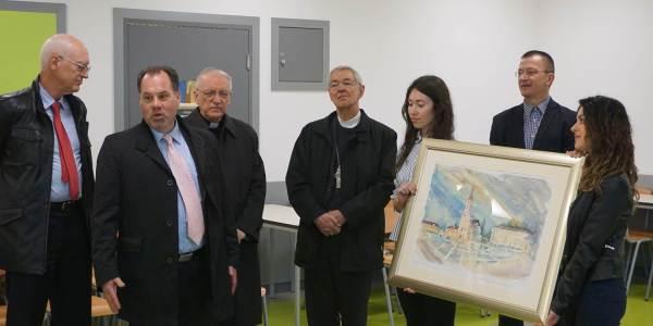 Delegacija Njemačke biskupske konferencije i Renovabisa posjetila Školu