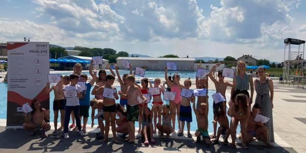 Škola plivanja za boravkaše