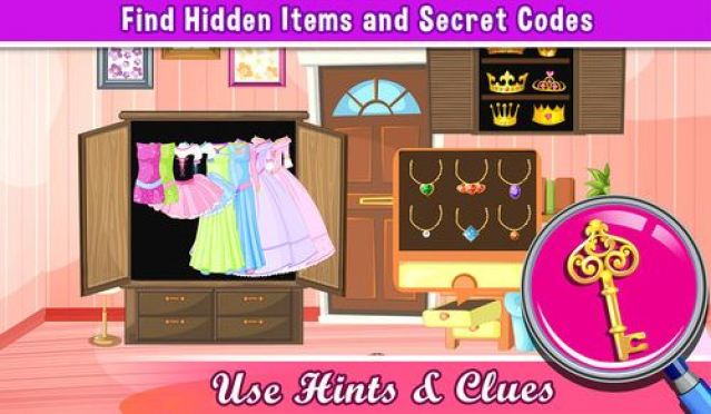 A Princess Hollywood Hidden Object Puzzle