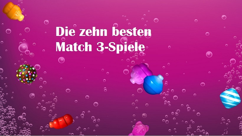 Der ultimative Match 3-Spaß