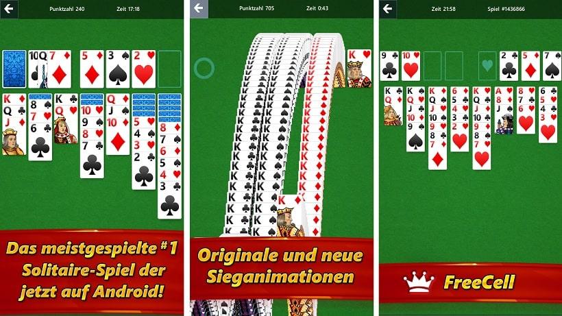 kostenlose spielen solitaire