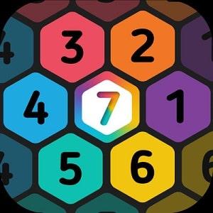 Make 7 Hexa Puzzle