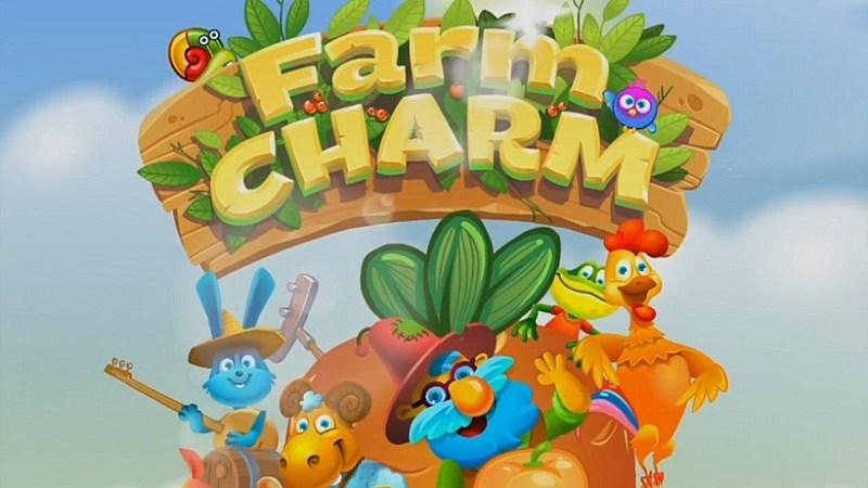 Farm Charm - Match 3 Blast King Games
