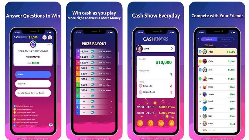Lasst die Finger von der App Cash Show!