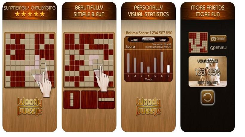 Der absolute Süchtigmacher: Woody Puzzle!