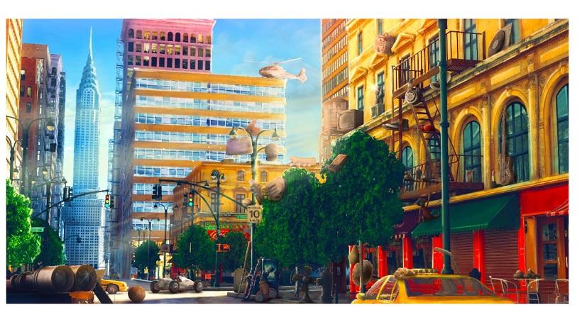 Wimmelbild New York