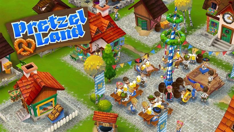 Ein toller Farmspiel-Spaß: Pretzel Land