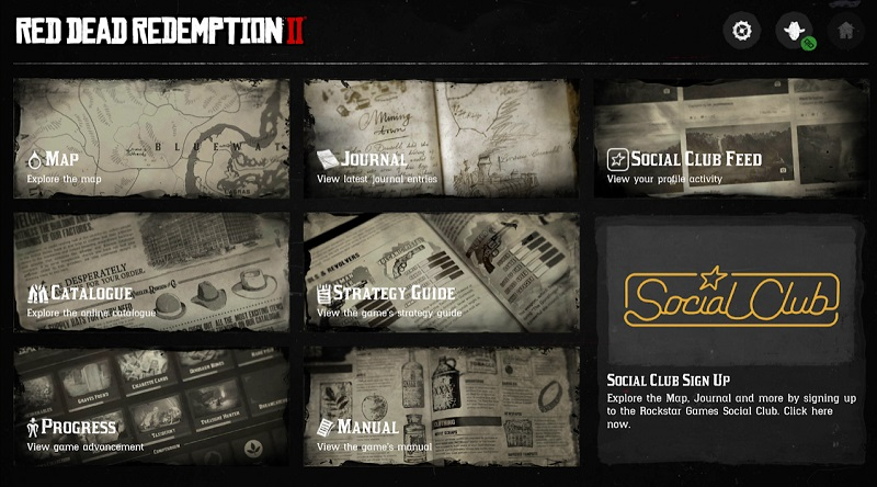 Die Companion-App zu Red Dead Redemption 2