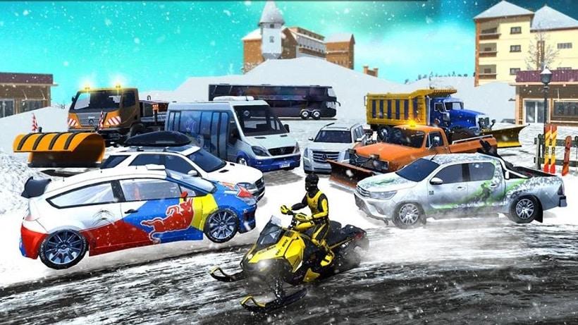 Winter Ski Park - Snow Driver