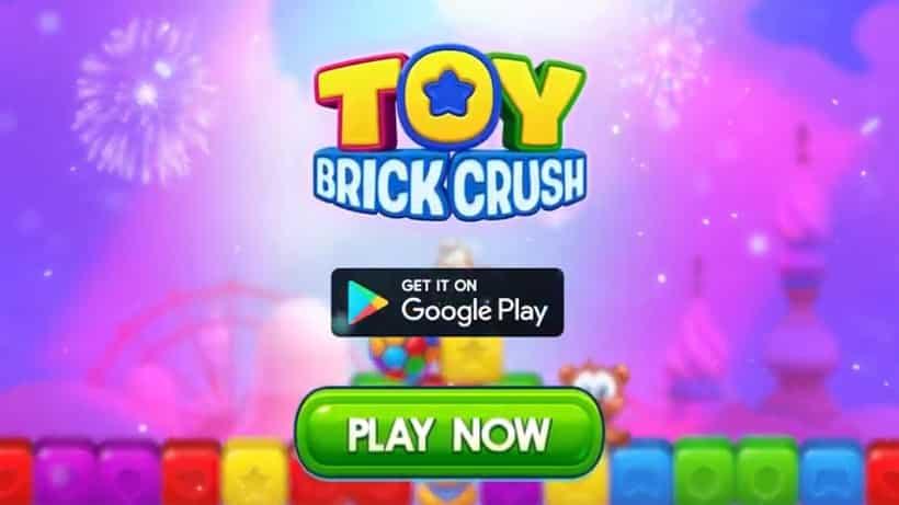 Toy Brick Crush