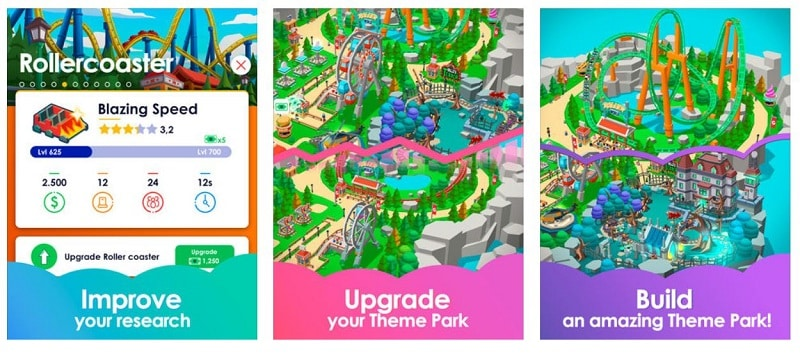 Idle Theme Park Tycoon