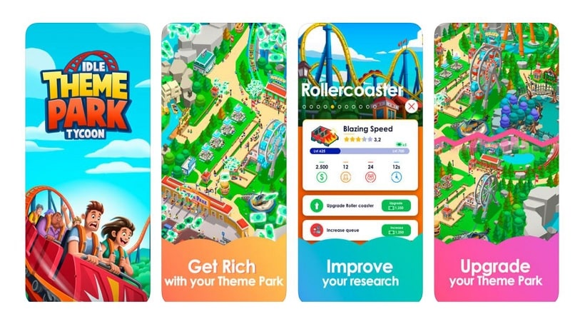 Idle Theme Park Tycoon