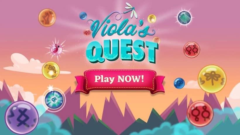 Violas Quest - Marble Blast