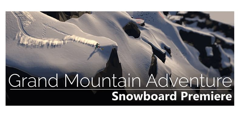 Grand Mountain Adventure Snowboard