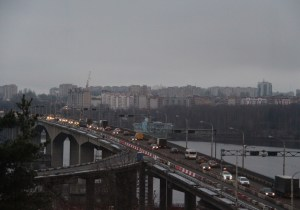 Кострома мост через Волгу ремонт