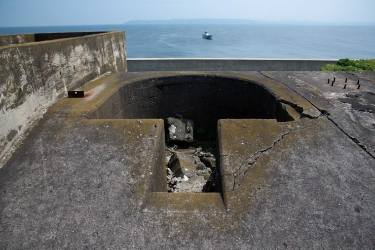 第二海堡カノン砲跡