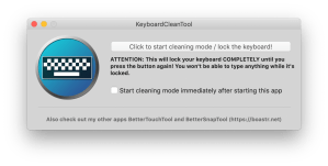 KeyboardCleanTool