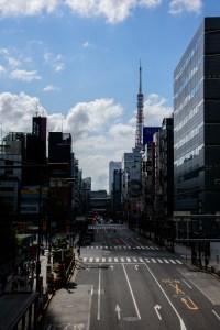 浜松町からの東京タワー
