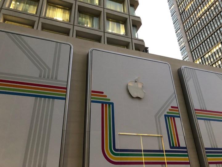開店前のApple丸の内