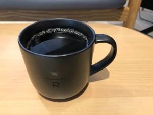 スターバックスリザーブストアで飲んだ「プアオーバー ボリビア ブエナビスタ」コーヒー