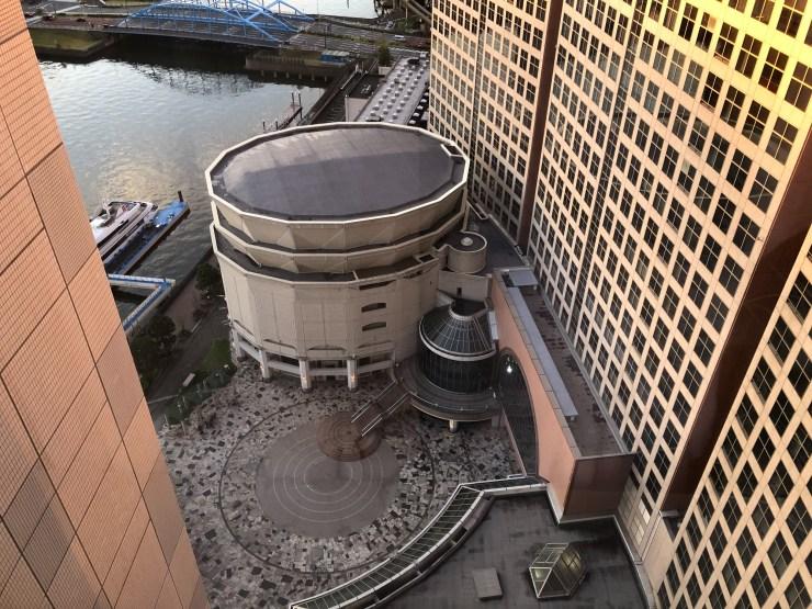 第一ホテル東京SEAFORTの部屋からの眺め