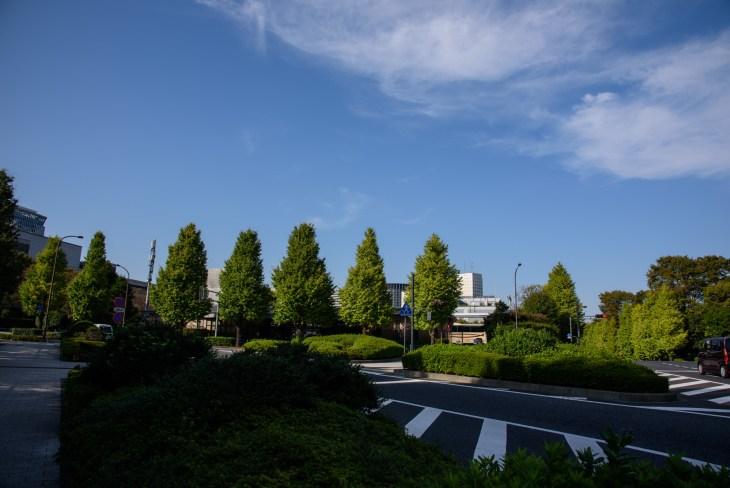 憲法記念館前交差点
