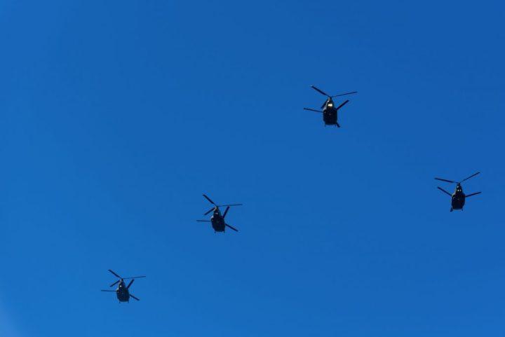 陸上自衛隊ヘリ
